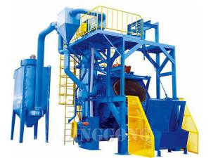 barrel type shot blasting machine 1