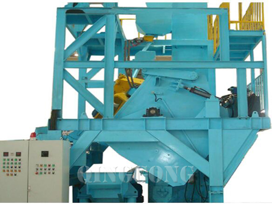 barrel type shot blasting machine 4