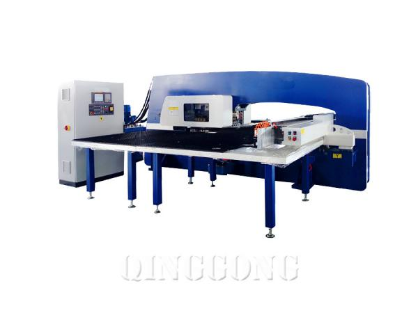 hydraulic cnc turret punching machine 1