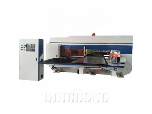 servo cnc turret punching machine 1