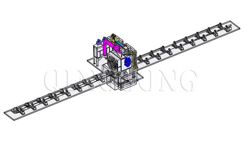 pipe shot blasting machine 1