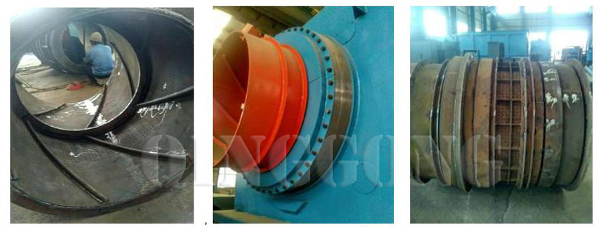 continuous tumble pass-through shot blasting machine 3