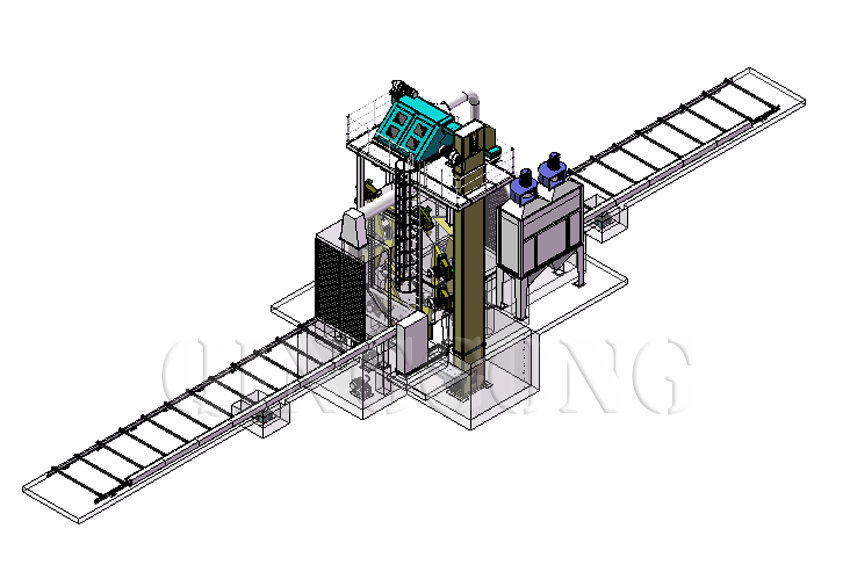 welding shot blasting machine 1