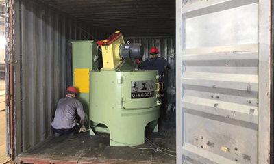 Rotary Table Shot Blanking Machine Delivery for Australia Customer